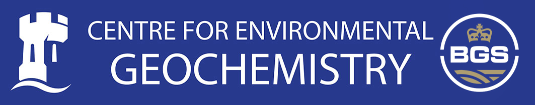 Centre for Environmental Geochemistry logo